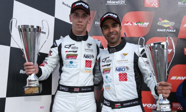 GT: First podium of the season for Al Harthy as runner up in British GT at Rockingham