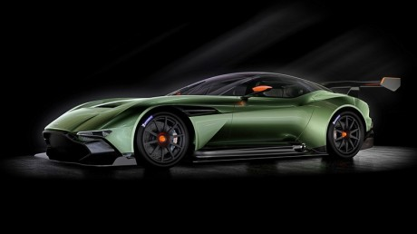 Styled entirely in-house by the Aston Martin design team led by Chief Creative Officer Marek Reichman