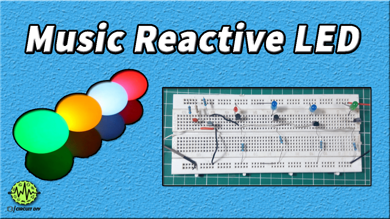 hight resolution of dancing led circuit