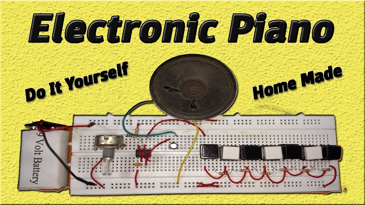 how to make electronic piano circuit using 555 timer icThe 555 Timer Integrated Circuit Ic Make Diy Projects #17