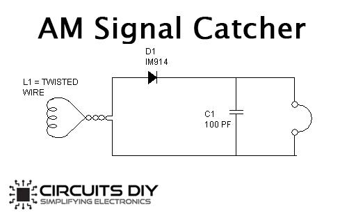 AM Signal Catcher using 1N914 Diode