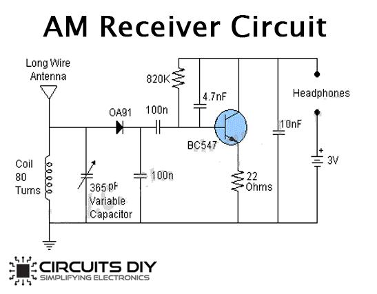 Simple AM Receiver Circuit