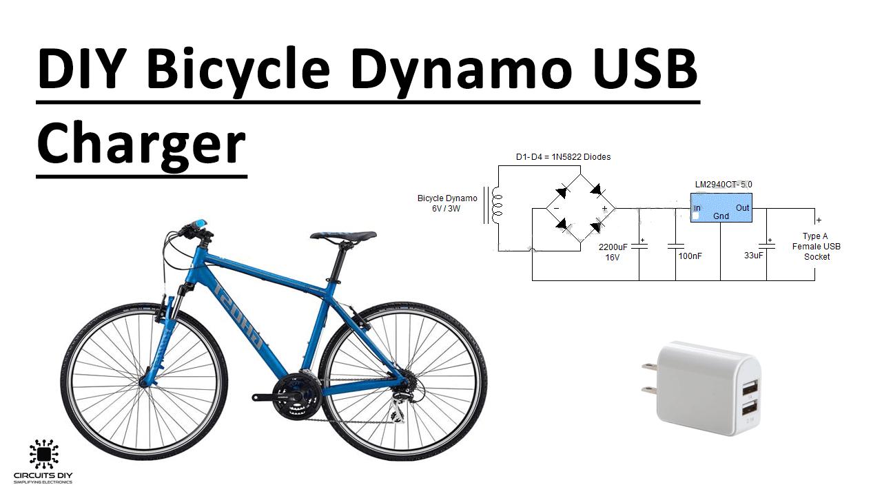 DIY Bicycle Dynamo USB Charger