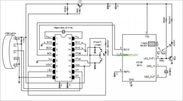 Pin Optical Mouse Circuit Board on Pinterest