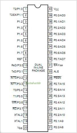 At89c51 datasheet pdf