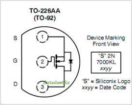 BS-170 Mosfet as diode clipper