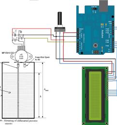 water level measurement using arduino circuits4you com wiring diagram as well as water depth pressure sensor circuit diagram [ 1196 x 1012 Pixel ]