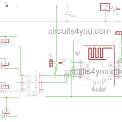 Dld Mini Projects Circuit Diagram Universal Ignition Switch Wiring Iot Based Home Automation Project Circuits4you Com Autoamtion Circuits