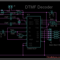 Dtmf Decoder Ic Mt8870 Pin Diagram Wiring For Well Pump Pressure Switch Circuits4you Com Decode Circuit