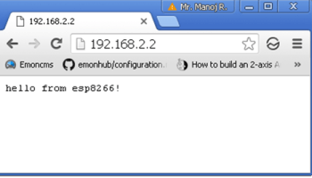 ESP8266 Web Server with HTML Web Page | Circuits4you com