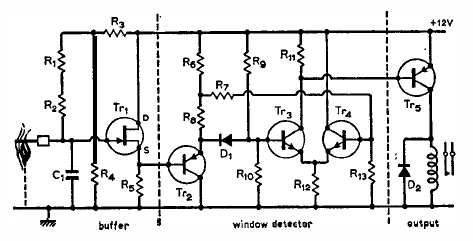 Phone Detector Circuit Diagram Likewise Metal Detector