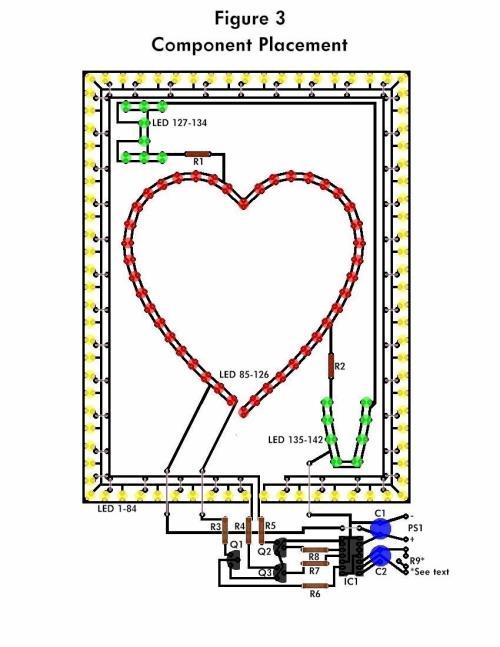 small resolution of led circuit diagram dancing