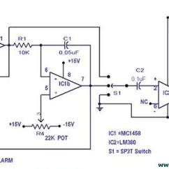 Car Wiring Diagrams Alarm Omron 24vdc Relay Diagram Diy Simple Multitone - Circuit Schematic