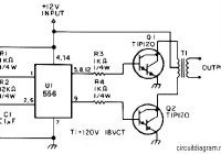 25W Low Power Inverter Circuit