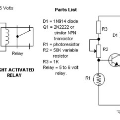 Wiring Diagram For Solar Battery Charger Kc Hilites Daylighter Dark And Light Activated Relay - Circuit Schematic