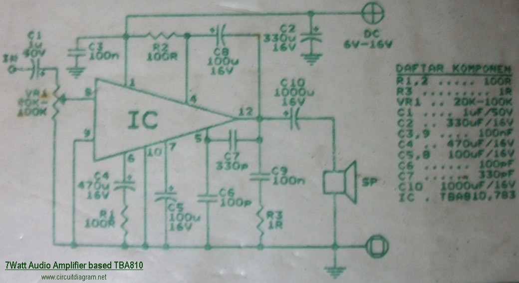 For Radio Control Circuit Diagram Electronic Circuits Diagram