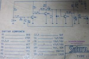 Dynamic Mic Compressor  Circuit Schematic