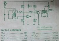 Mini MW Transmitter Circuit Electronic