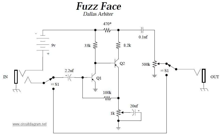 Car Audio Amplifier Wiring Diagrams Dallas Arbiter Fuzz Face Circuit Scheme