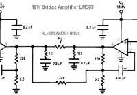 16W Bridge Amplifier LM383