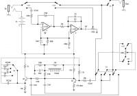Electro Harmonix Fuzz Wah circuit diagram