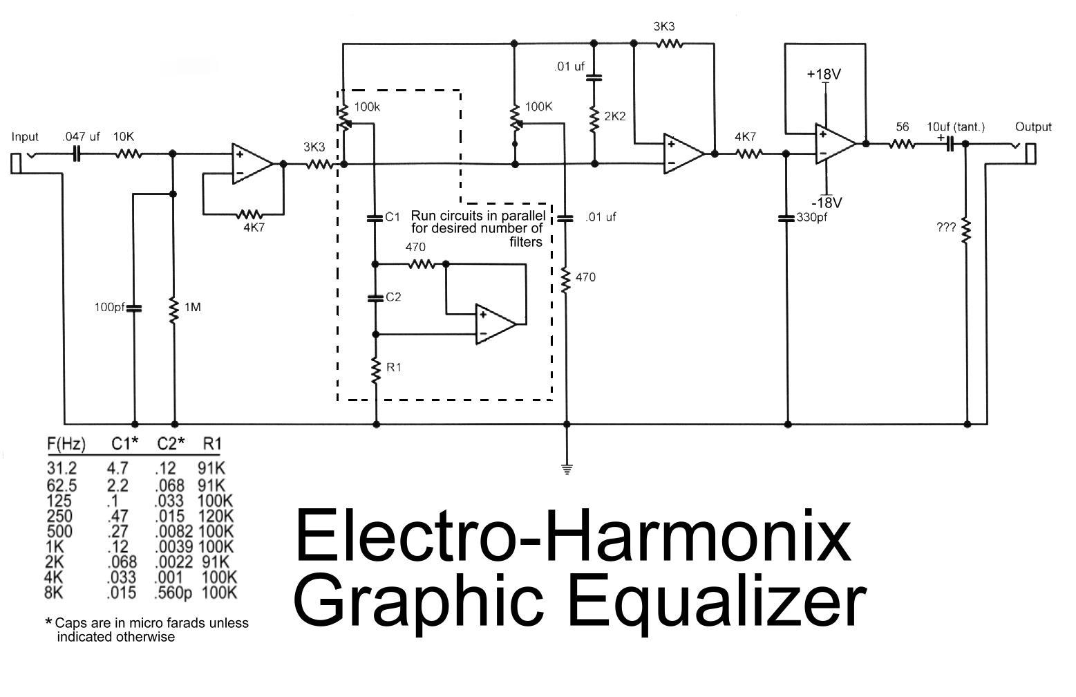 hight resolution of equalizer category electronic circuit diagram 4 band equalizer circuit diagram source 3 band audio
