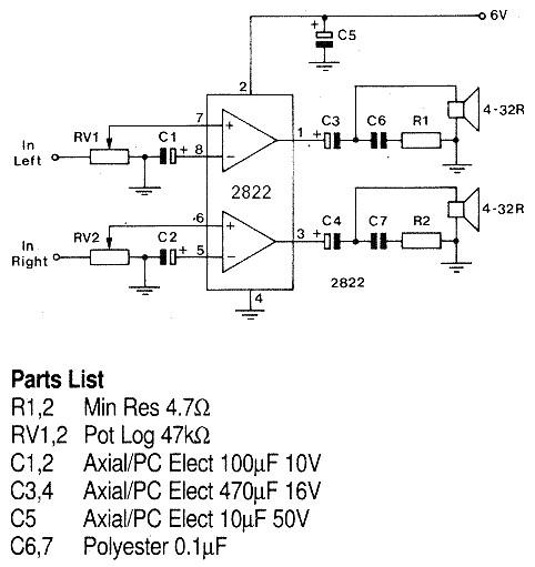 headphone amplifier circuit diagram electronic circuits diagram