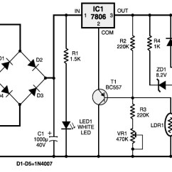 Car Alarm Installation Wiring Diagram 1940 9n Ford Tractor Automatic Light Controller - Circuit Schematic