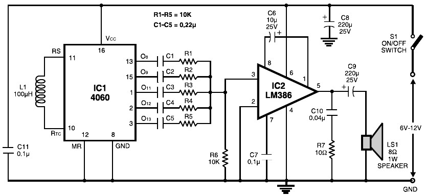 Vacuum Tube Audio Amplifier Circuit Diagrams