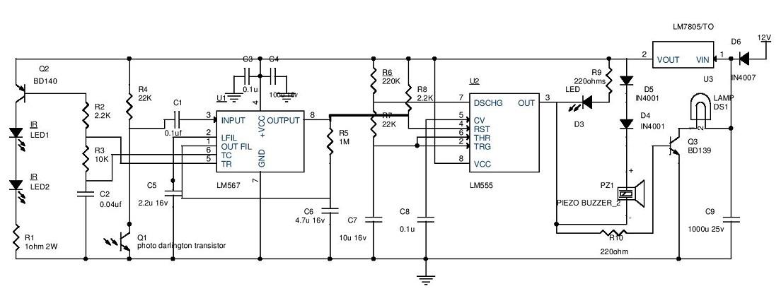 led electronic circuit