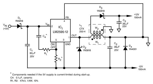 12vdc schematic