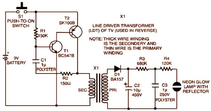 Ac Schematic Wiring Diagram 3v Strobe Light Miniature Circuit Scheme