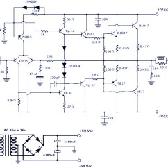 100w Subwoofer Amplifier Circuit Diagram Magnetic Motor Starter Wiring 200w Power : Schematic & Pcb Design