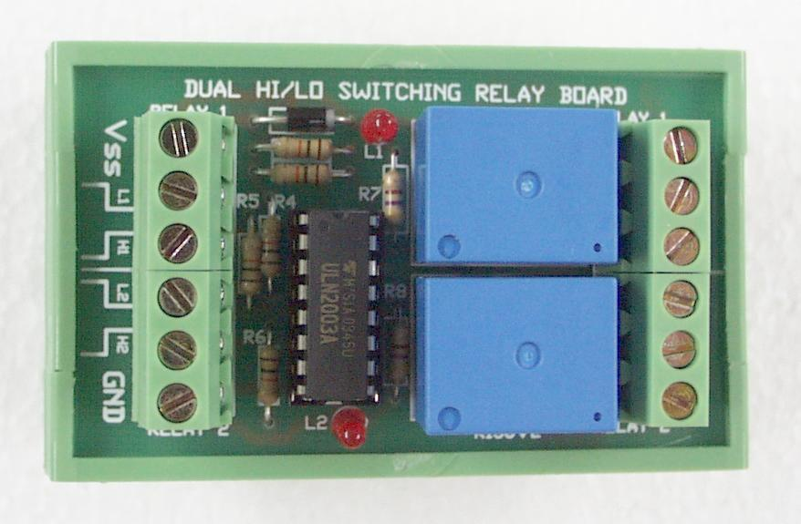Dual HI/LO Switched Relay Board Kit
