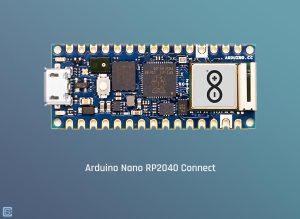 Arduino-Nano-RP2040-Connect-IoT-Development-Board-Top-View-2