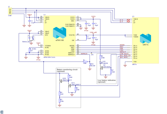 Nordic-Semiconductor-nPM1100-Power-Management-IC-PMIC-Reference-Schematic-2
