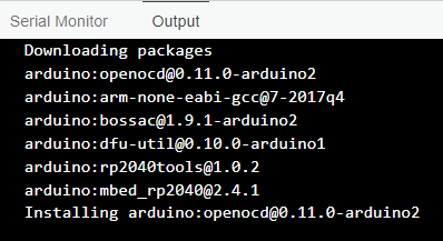 Arduino-IDE-2-Beta-Boards-Manager-Install-RP2040-Mbed-OS-Package-Downloading-Console-Messages-1