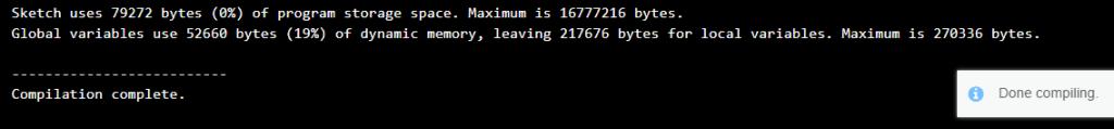 Arduino-IDE-2-Beta-Raspberry-Pi-Pico-RP2040-Blink-Sketch-Compilation-Done-1