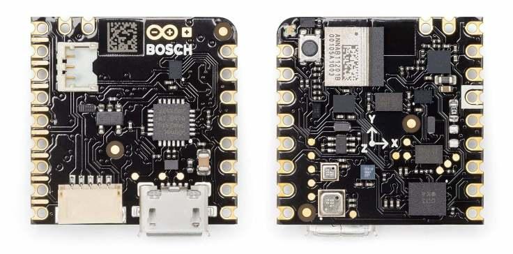 Arduino-Pro-Nicla-Sense-ME-nRF52832-Bosch-Module-PCB-Top-and-Bottom-View-01_1