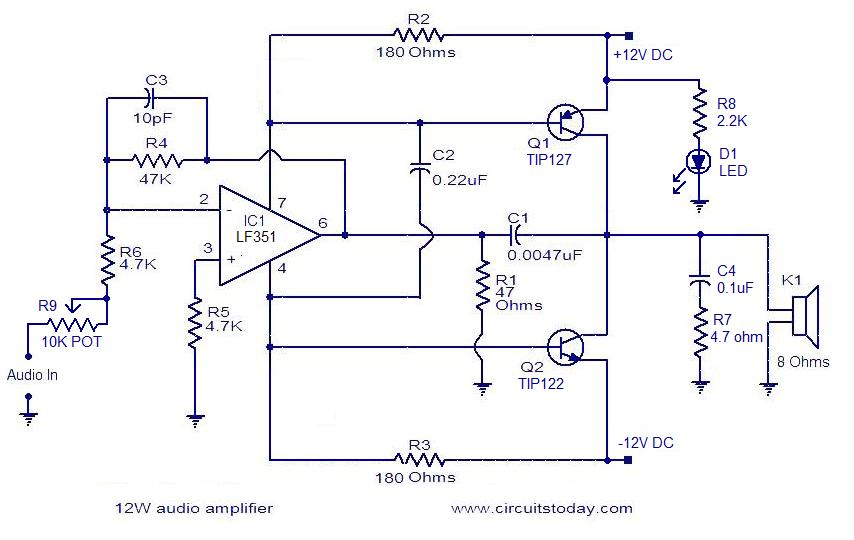 Diagram Dc12v Audio 1000w Amplifier Circuit Diagrams Full Version Hd Quality Circuit Diagrams 240391 Vincentescrive Fr