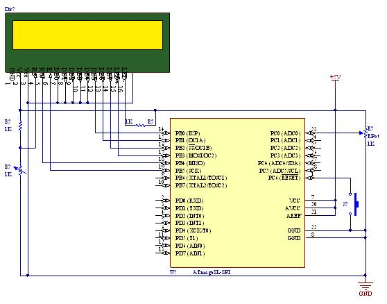 For Avr Wiring Diagram Tutorial On Using Adc Analog To Digital Converter Unit
