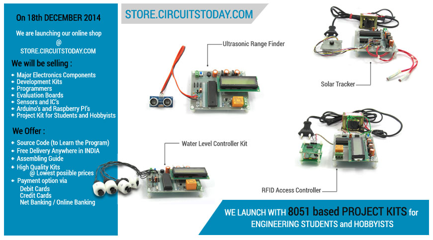 Online Store To Buy Electronic Components And Project Kits