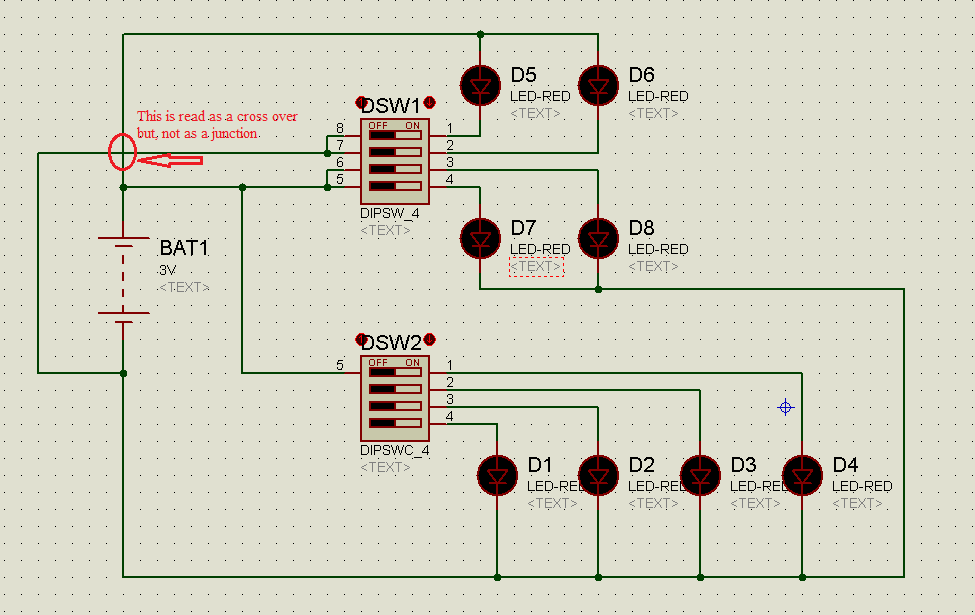 Proteus Tutorial-Switches And Relays-Types-Screenshots
