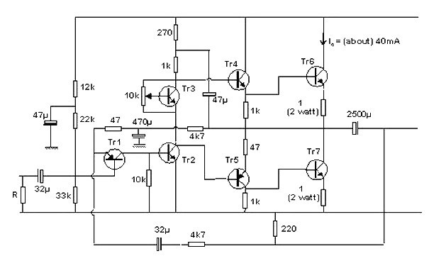 10 Watt Transistor Audio Amplifier » CircuitsZone.com