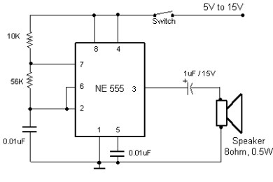 electronic buzzer circuits