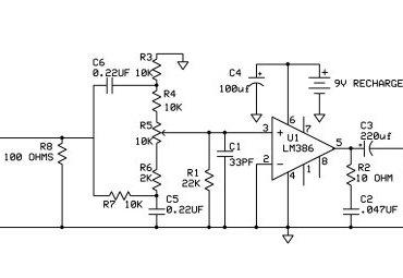 bass booster headphone amp circuit