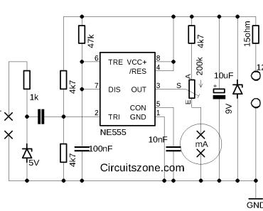 car tachometer circuit
