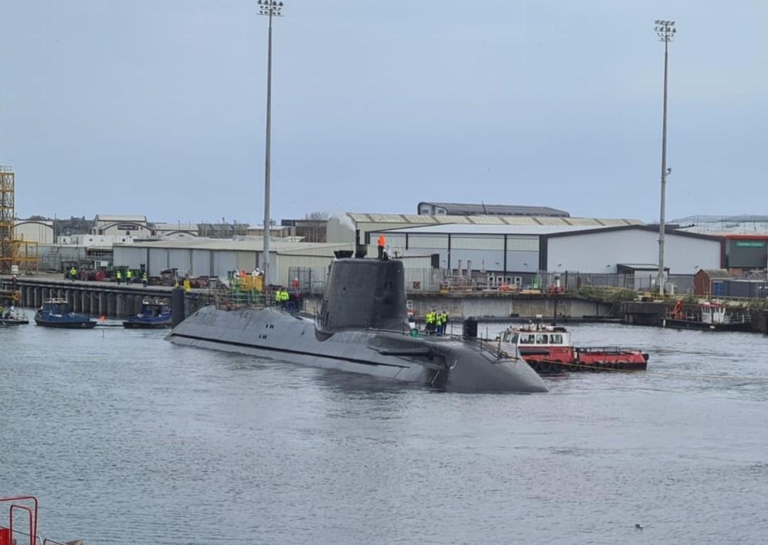 BAE Systems Submarine Launch