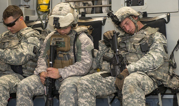 Military technique to fall asleep in two minutes