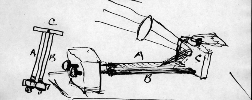 a line drawing in inik of an electrical device